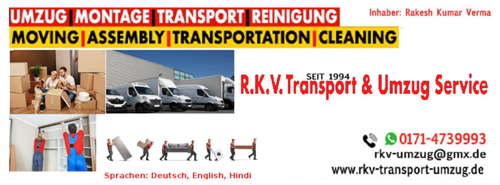 R K V  Transport und Umzugs Service – Eine weitere WordPress-Website
